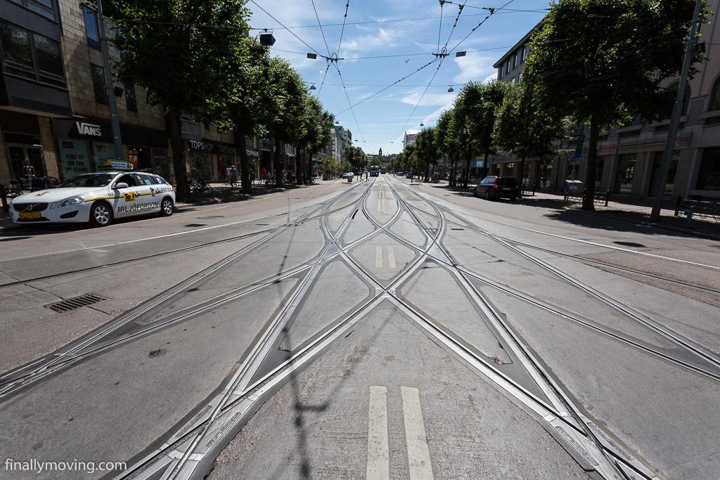 Gothenburg tram lines