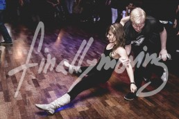 Social dancing at Swingtzerland 2016 West Coast Swing Dancing event after party