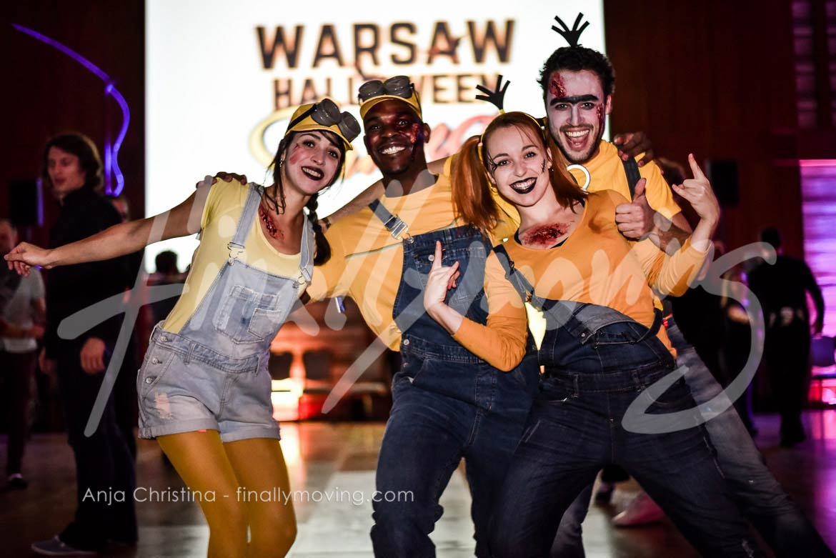 Event photography reportage Warsaw Halloween Swing 2016 West Coast Swing