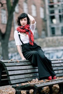 Ella in Berlin I - 50's Style