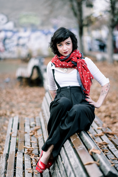 The 50 Best Fashion Blogs You Haven T Discovered Yet: Ella 50s Look Berlin Backyard