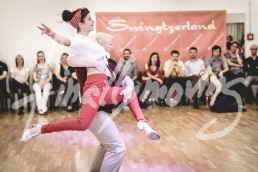 West Coast Swing Showcase with Sonya and Stephen White at Swingtzerland 2016 event